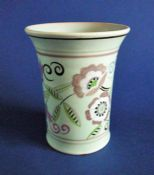 Rare Poole Pottery TH Pattern Vase by Truda Carter c1935